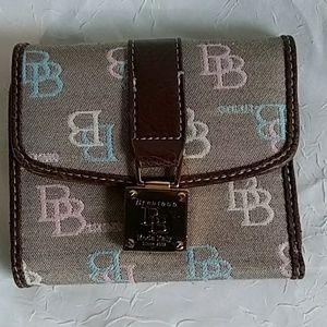 Brentano fabric wallet